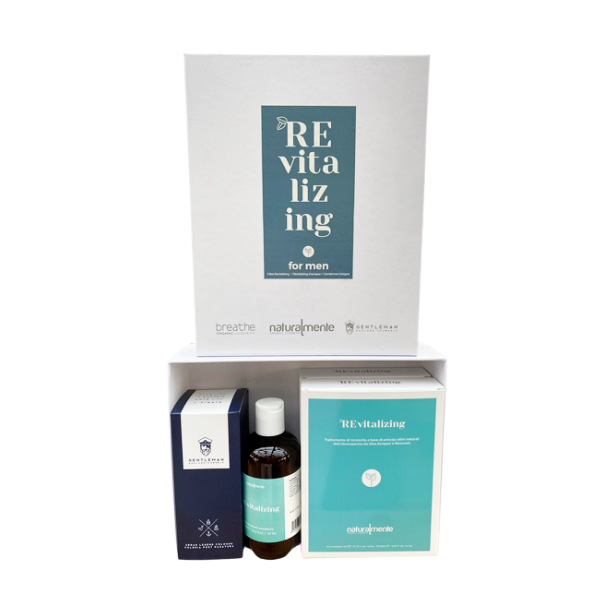 2 KIT ANTICADUTA REVITALIZING UOMO NATURALMENTE